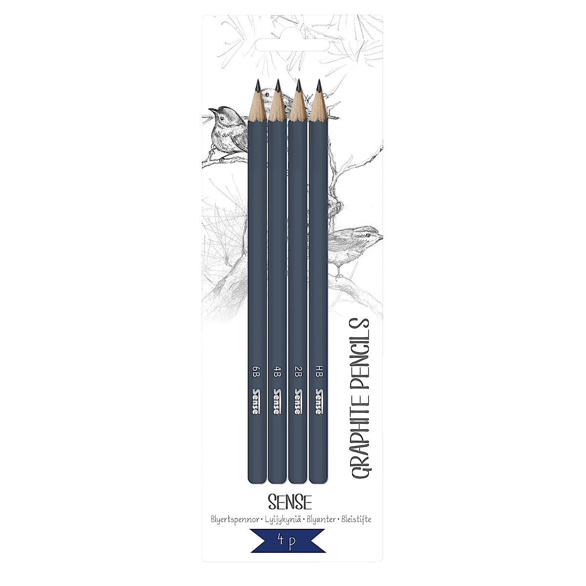 Pennor blyerts Sense 4-pack