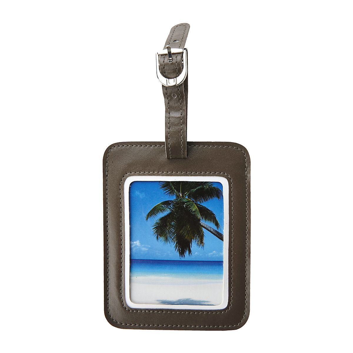 Asaklitt Luggage Tag with Photo Pocket