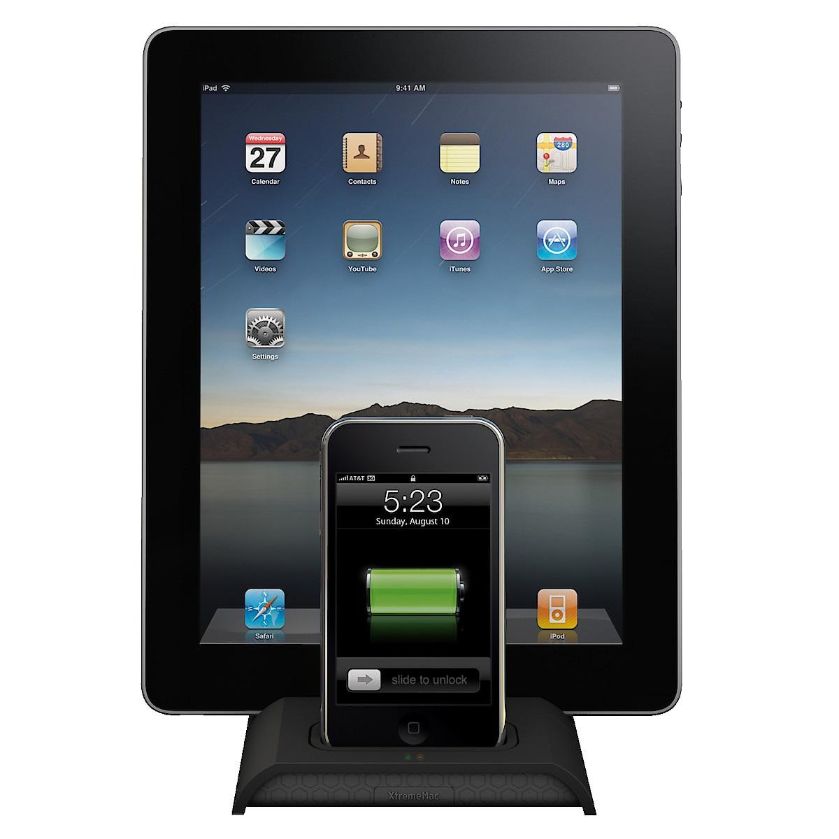 Laturi iPodille/iPhonelle/iPadille XtremeMac incharge Duo