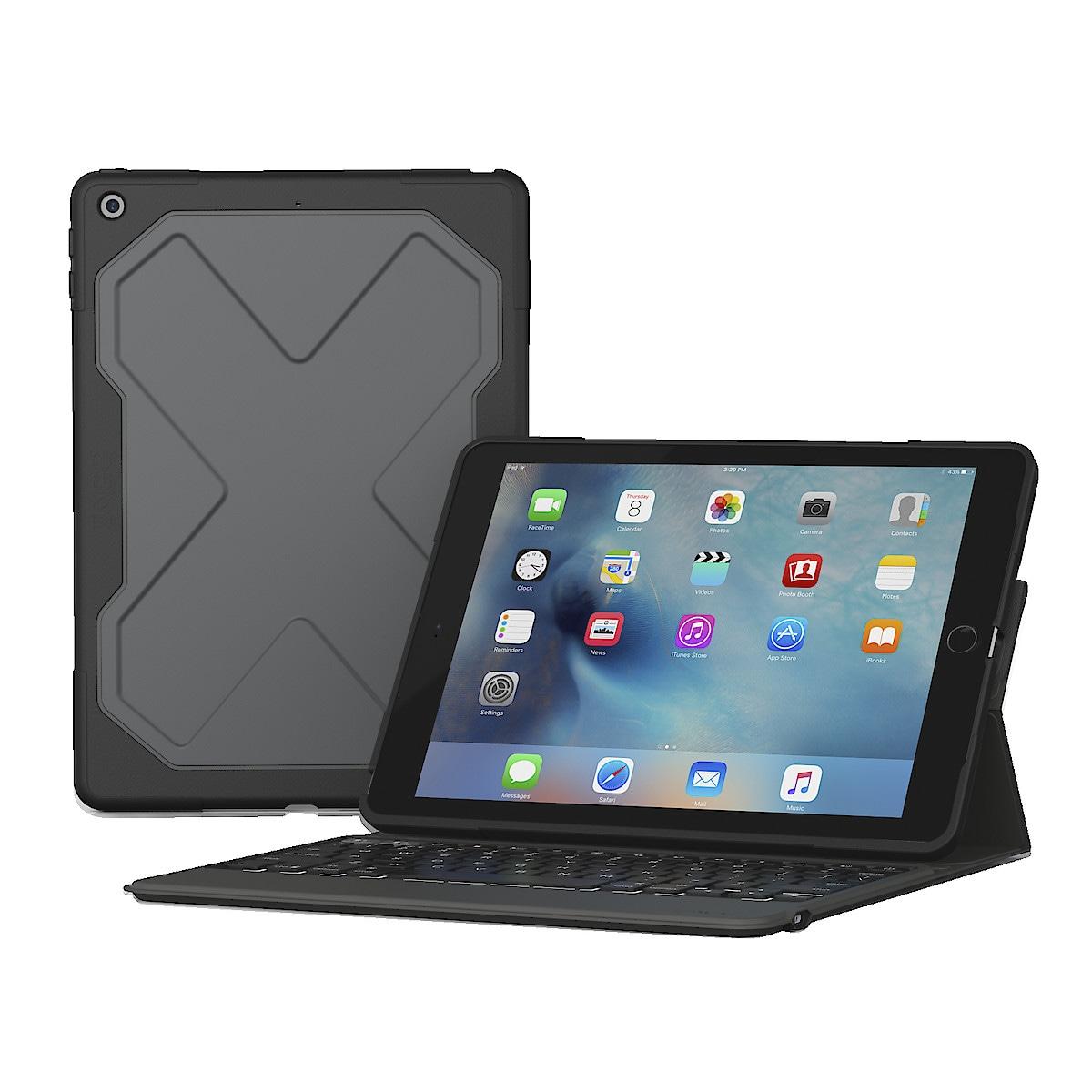 Fodral med tangentbord för iPad 9,7