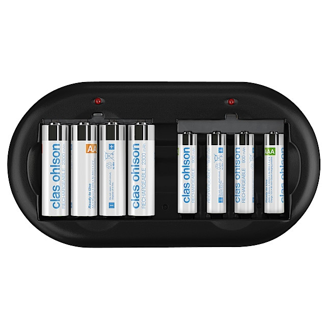 Batterier & Batteriladdare