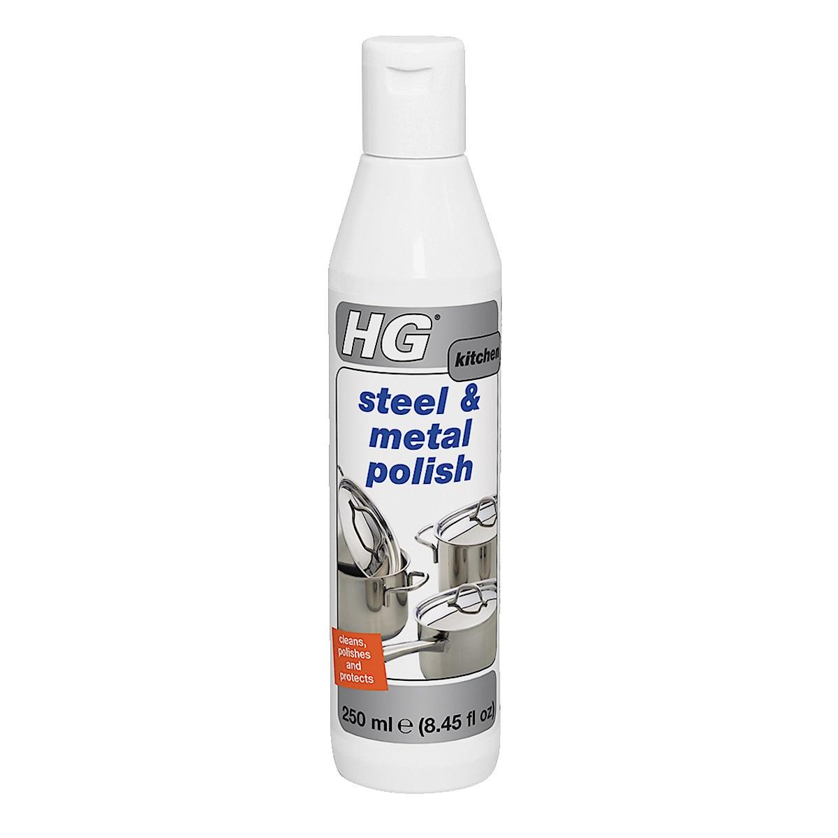 HG steel and metal polish