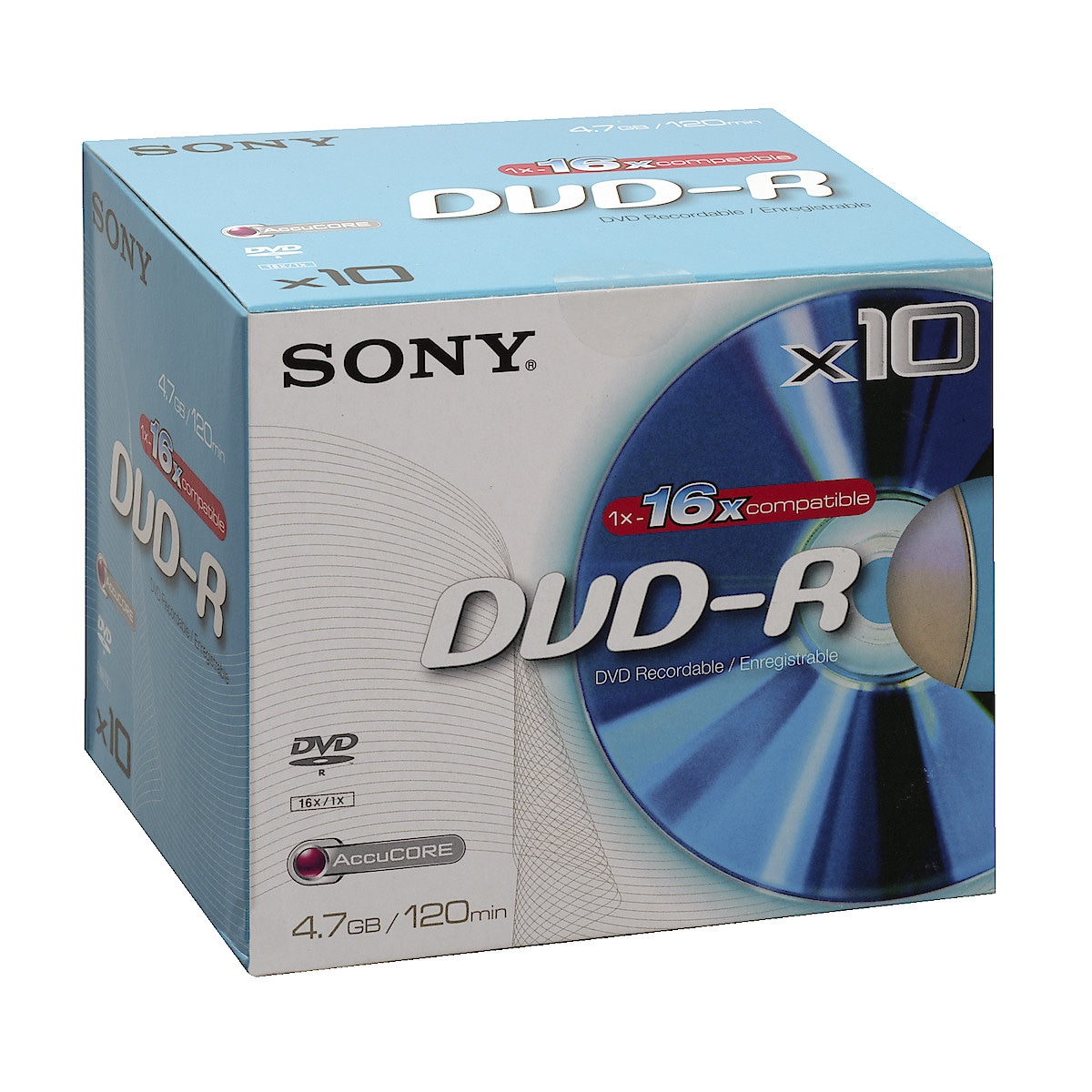 DVD R, 4.7 GB