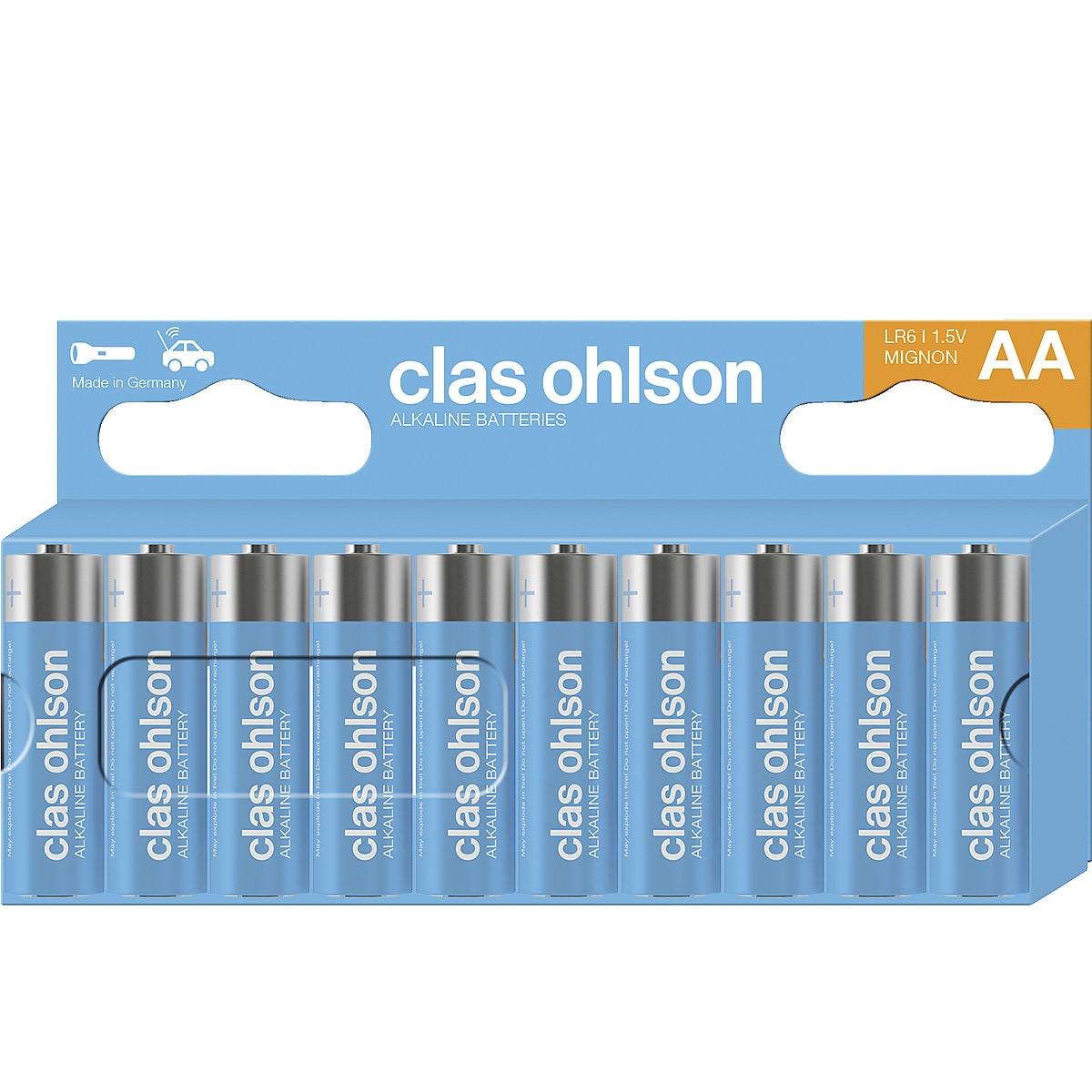 Alkaliparisto AA/LR6 Clas Ohlson