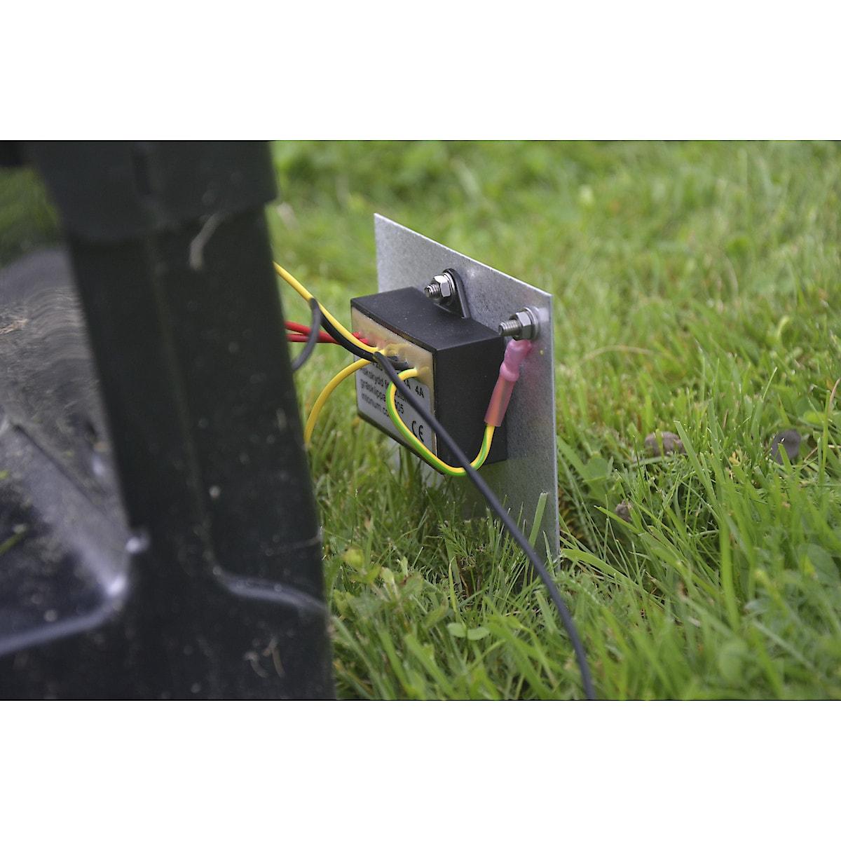 Åskskydd till robotgräsklippare, dubbelt