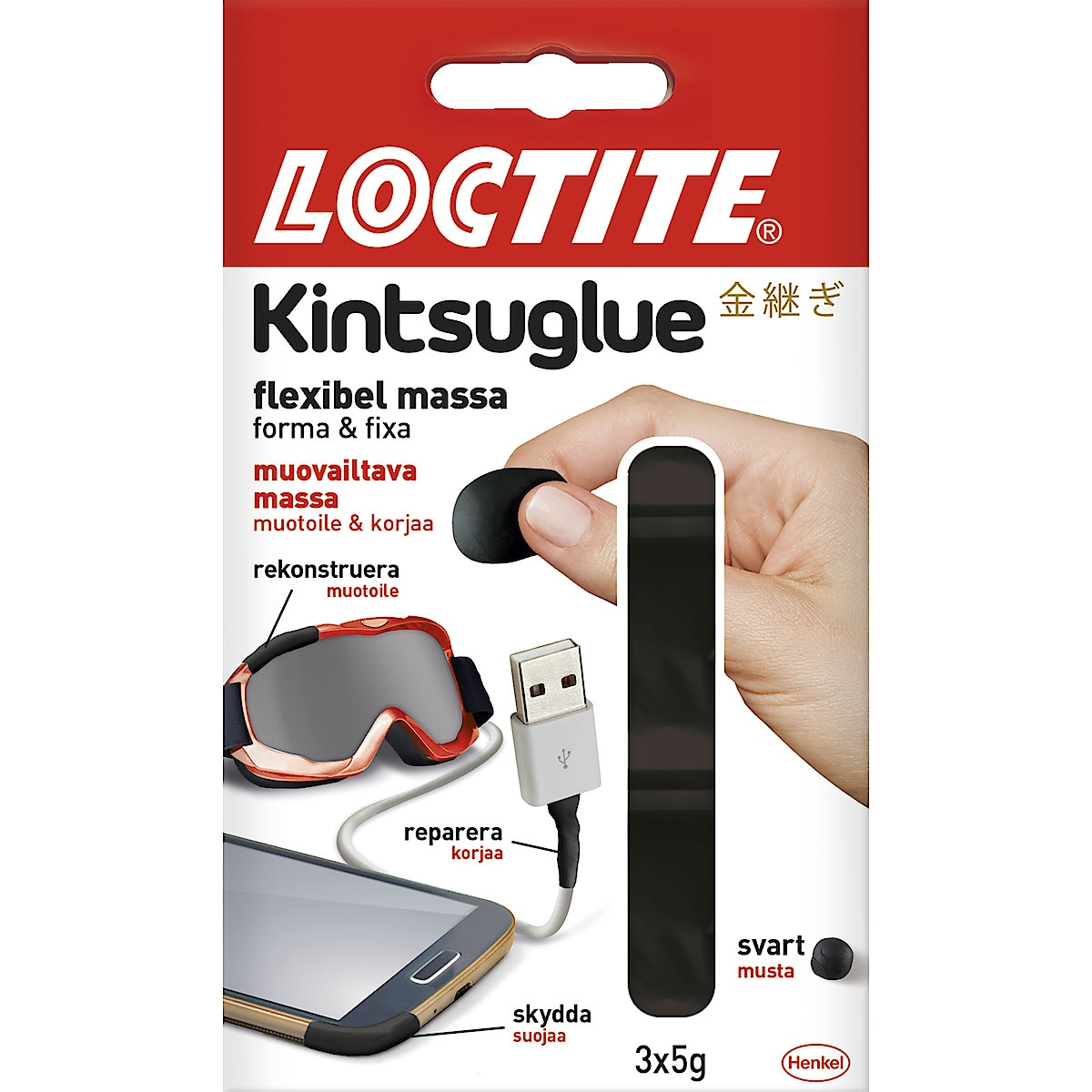 Reparationsmassa Loctite Kintsuglue