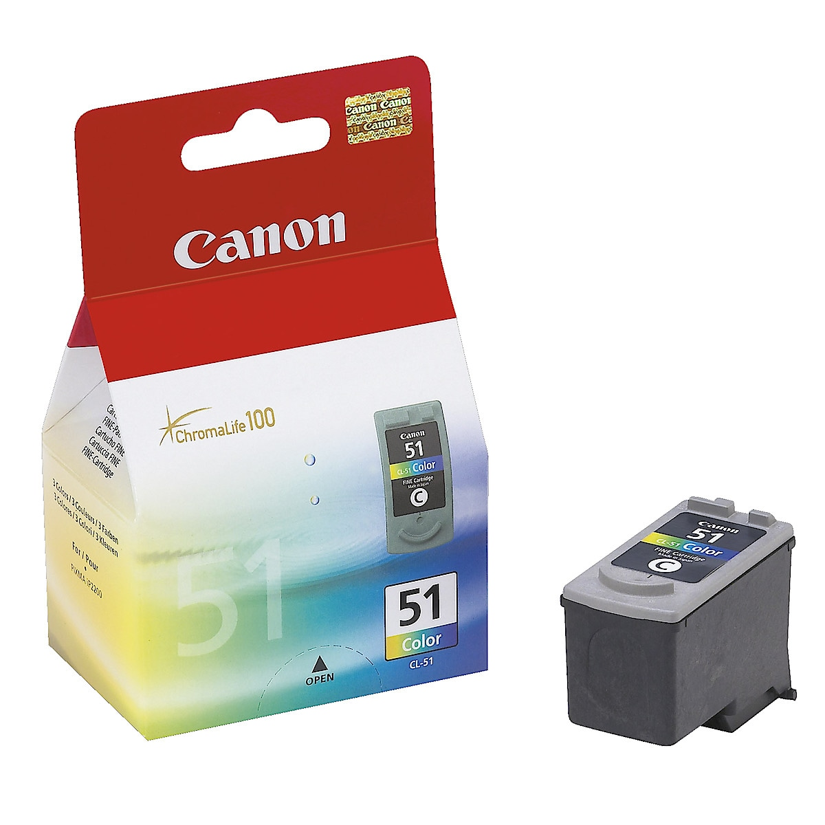 Ink Cartridge Canon CL-51