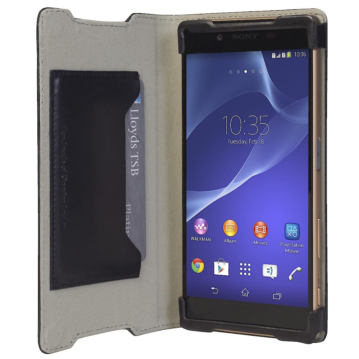 Plånboksfodral för Sony Xperia Z5, Krusell Kiruna