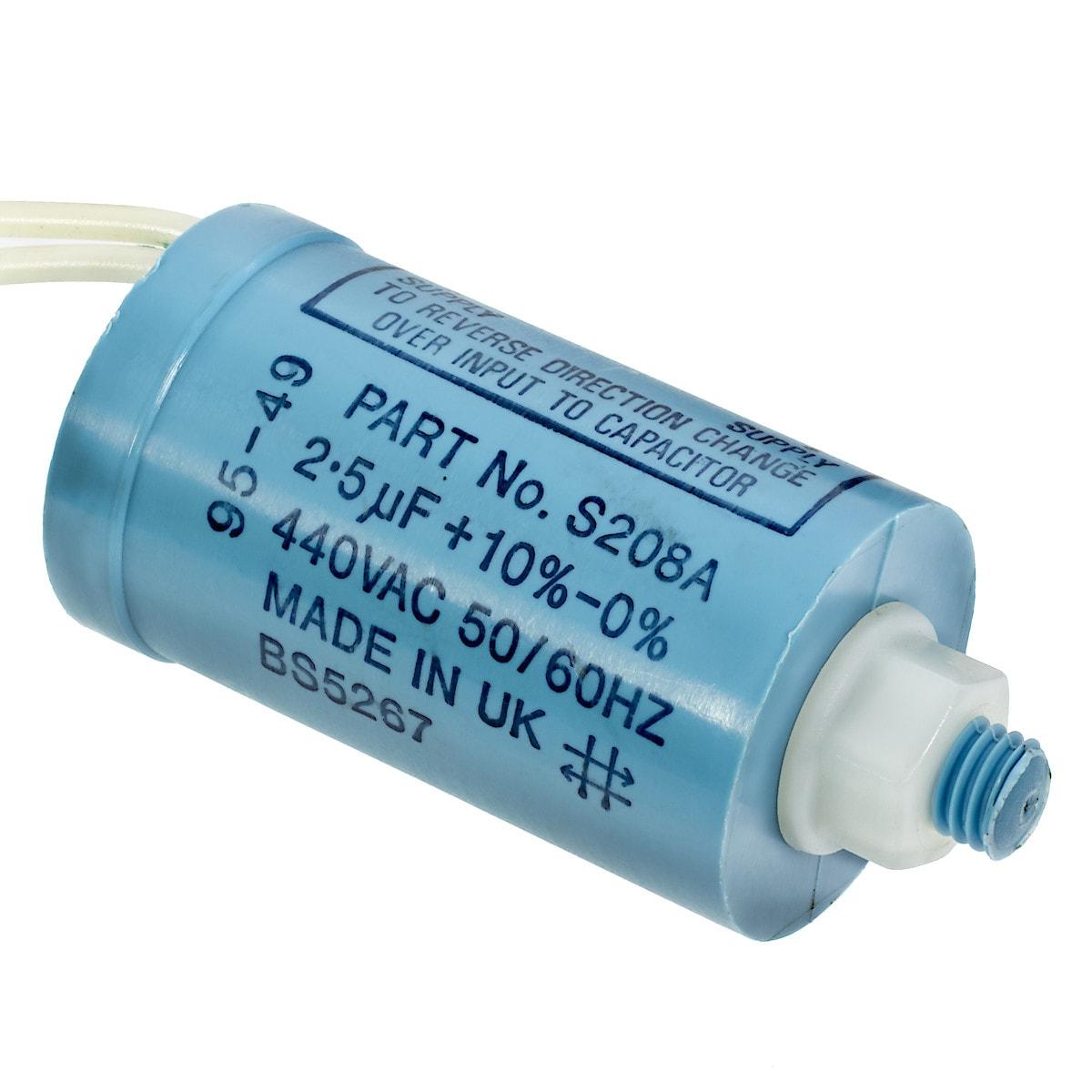 Kondensaattori 2,5 µF S208A