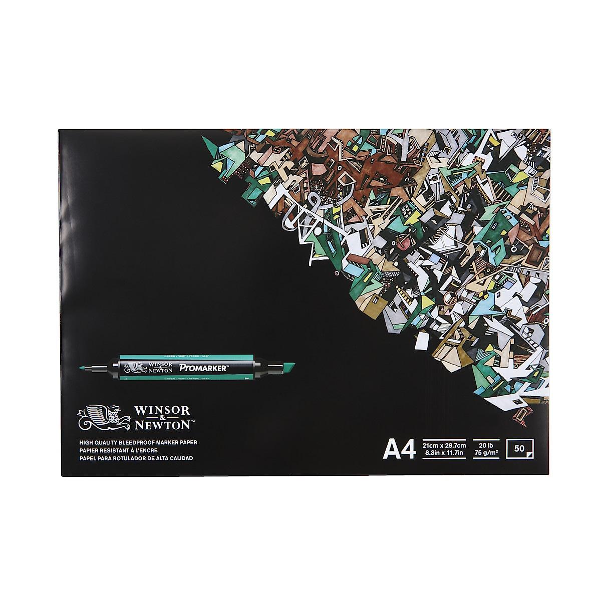 Lehtiö Winsor & Newton ProMarker Pad A4