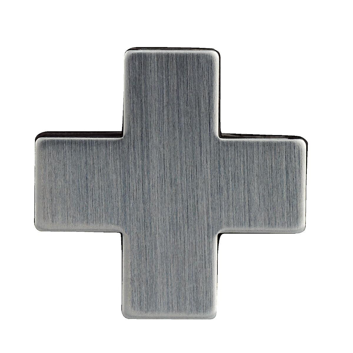 Set of 6 Heart/Cross Fridge Magnets