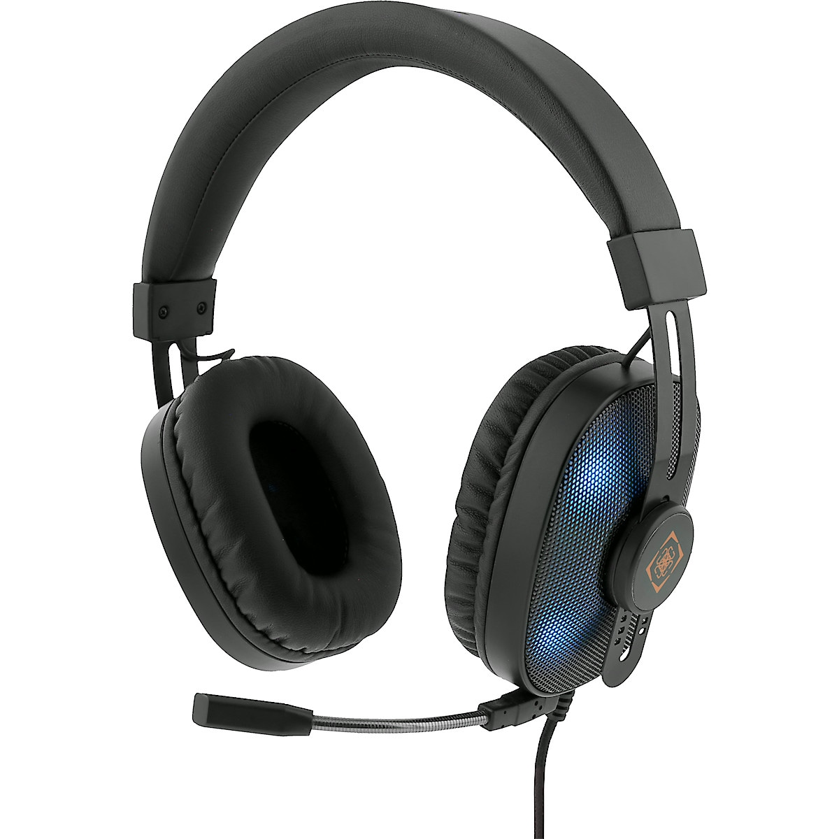 Gaming headset RGB Deltaco GAM-074