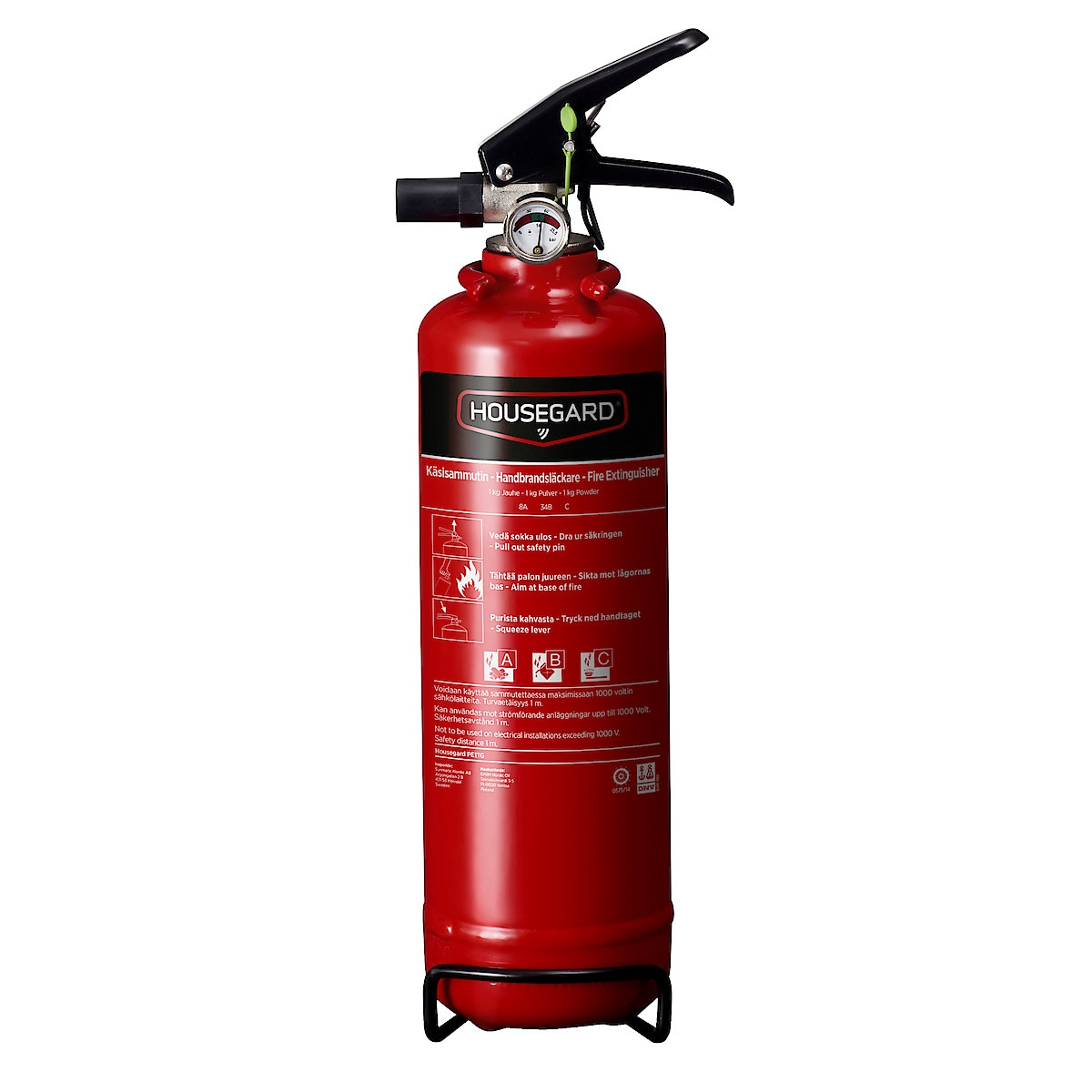 Brandsläckare 1 kg Housegard