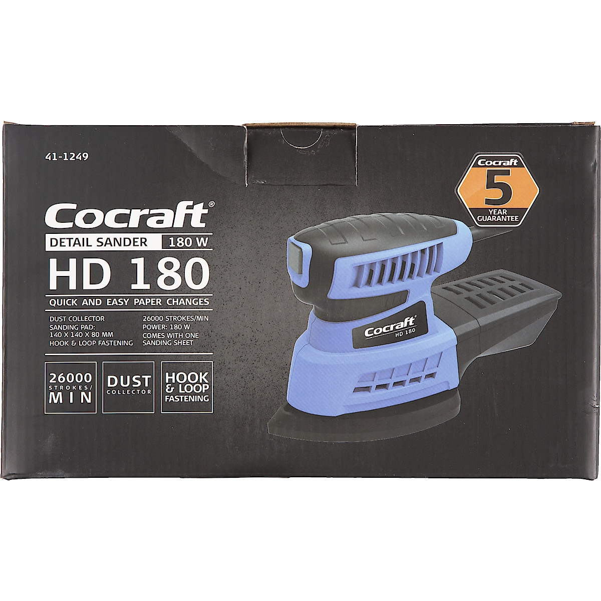 Hiomakone Cocraft HD 180
