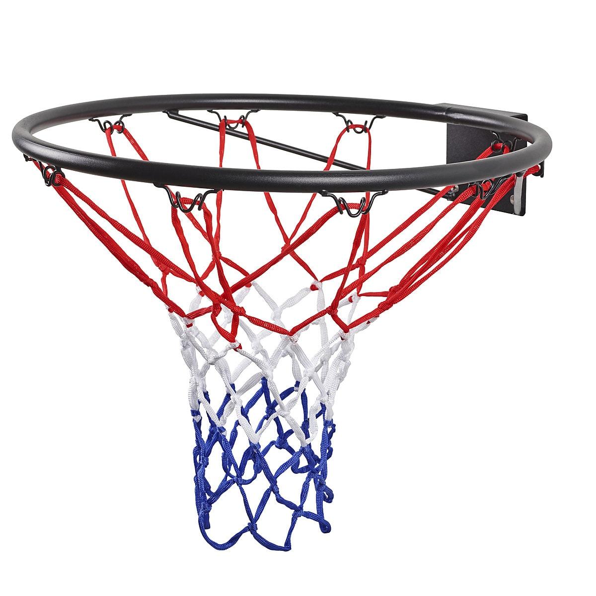 Basketballkurv med nett