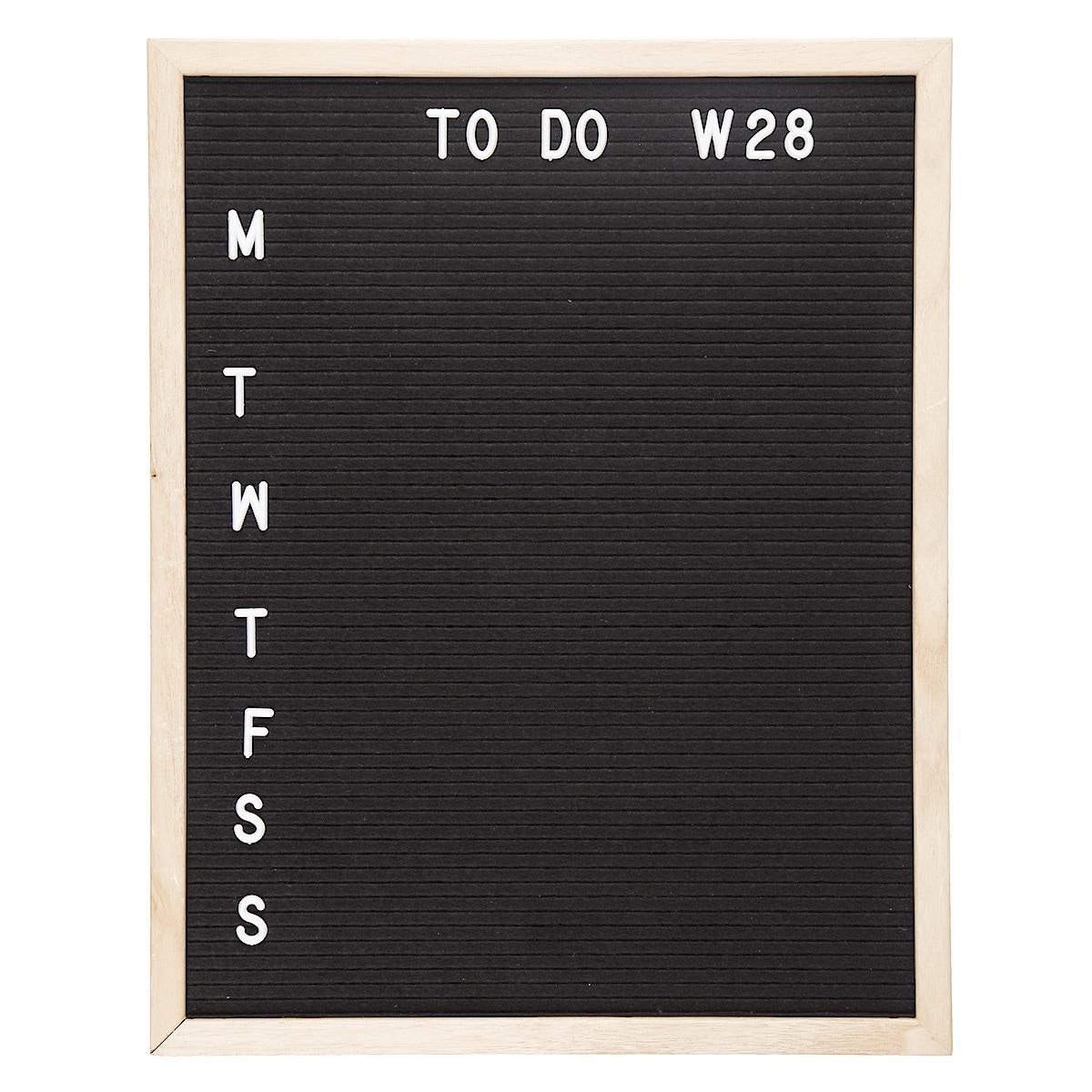 Buchstabentafel 40 x 50 cm