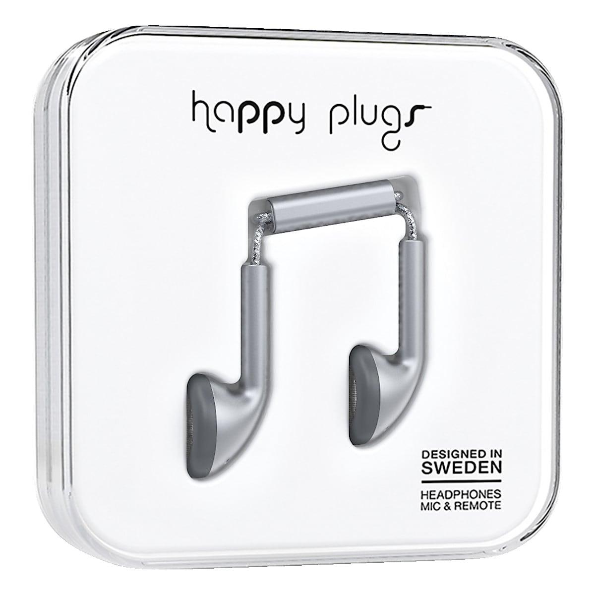 Hörlurar med mikrofon Happy Plugs Earbud Deluxe Edt
