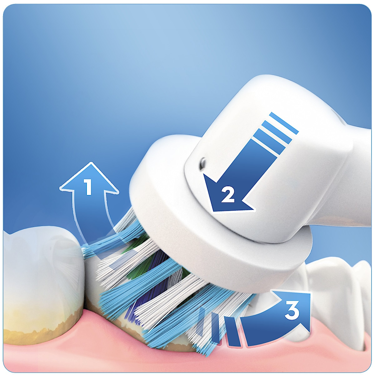 Sähköhammasharja Oral-B PRO 2900 Cross Action 2 kpl