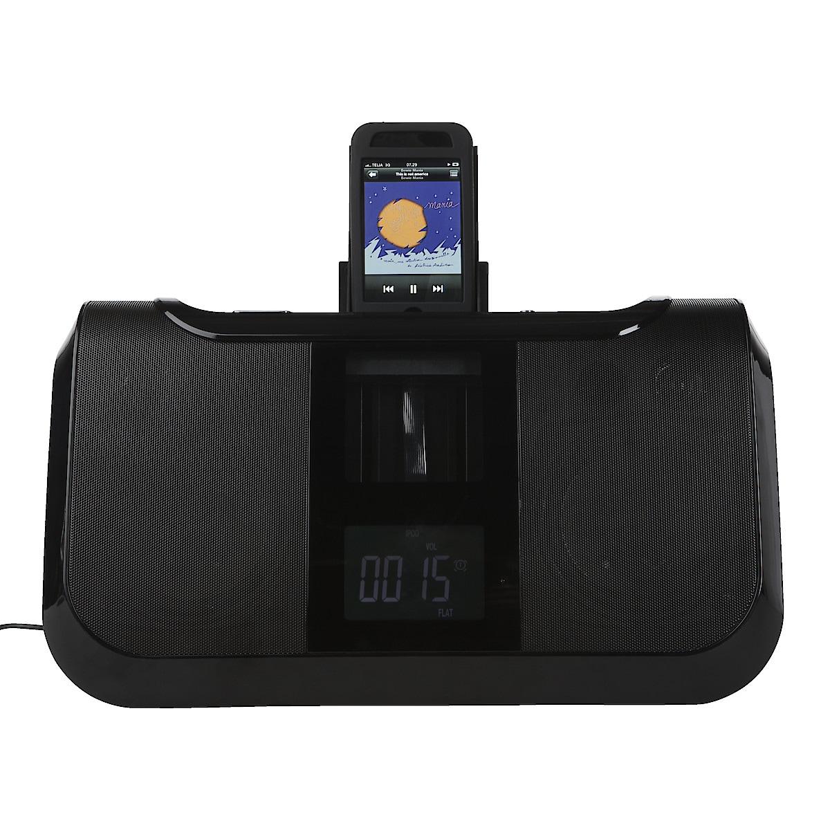 iPodhögtalare med radio