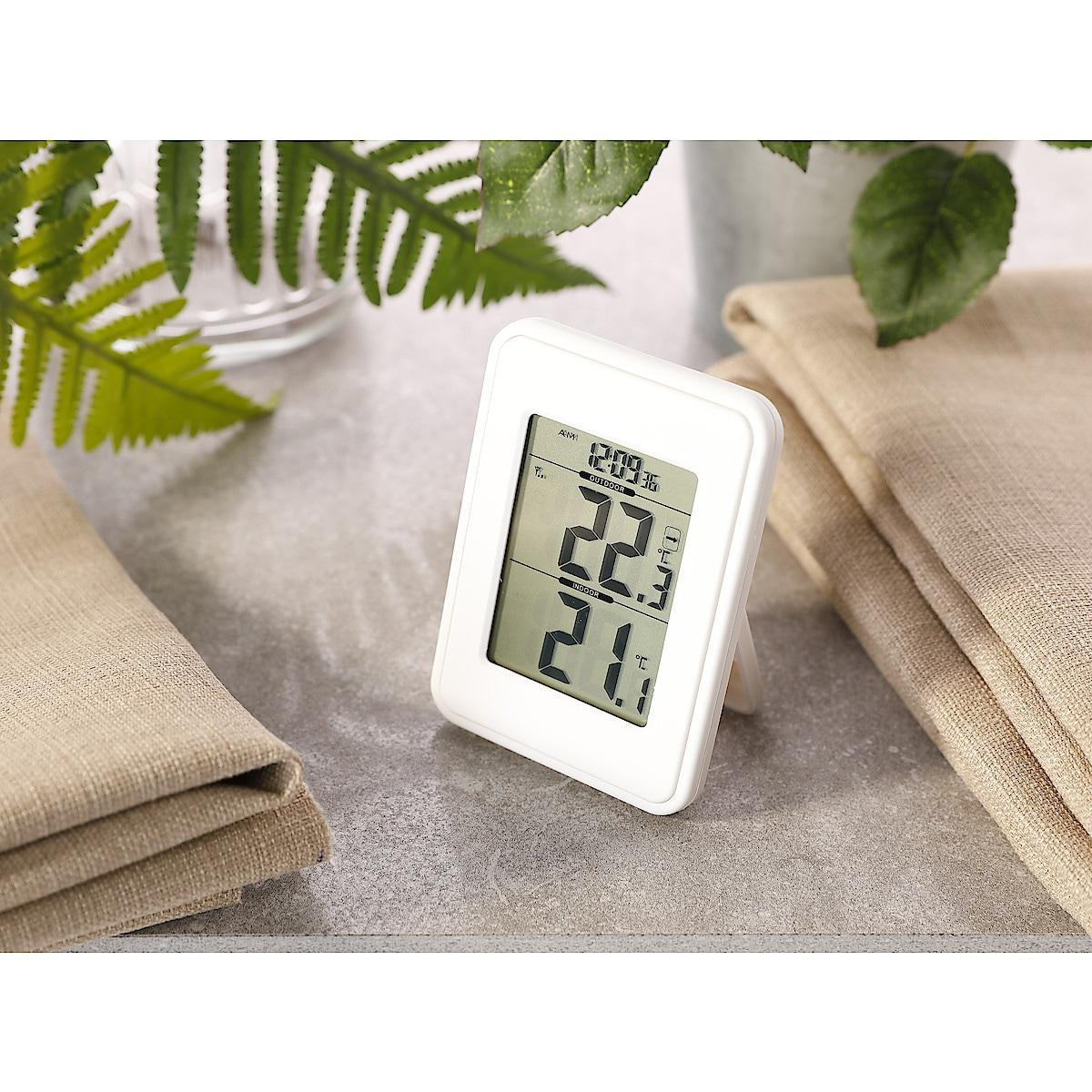 Trådlös termometer ute/inne
