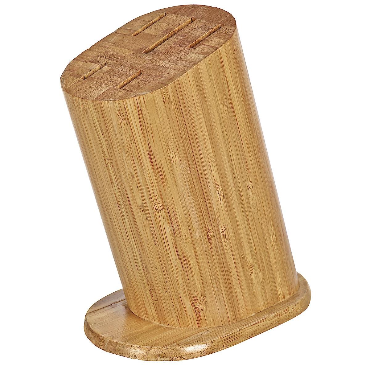 Messerblock aus Bambus