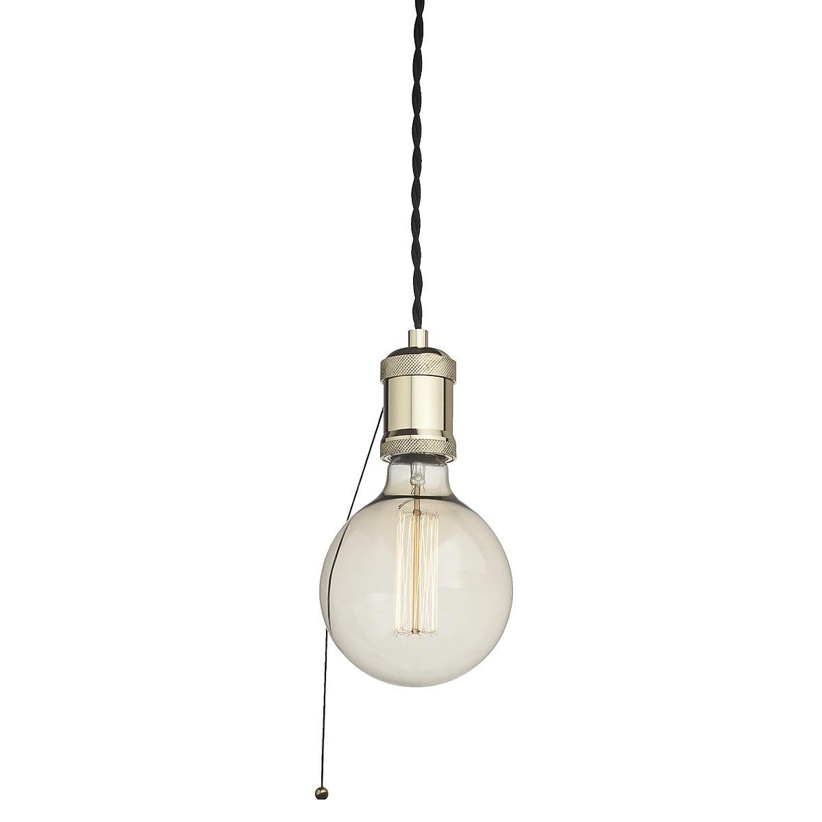 Lamphållare Classic med textilkabel Northlight