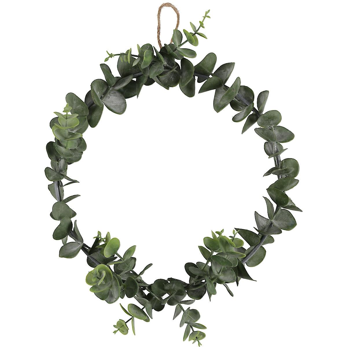 Eucalyptus-krans 25 cm