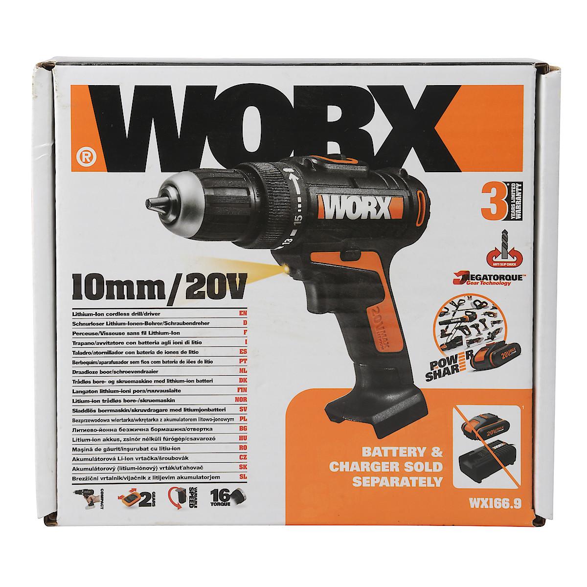 Skruvdragare Worx WX166.9