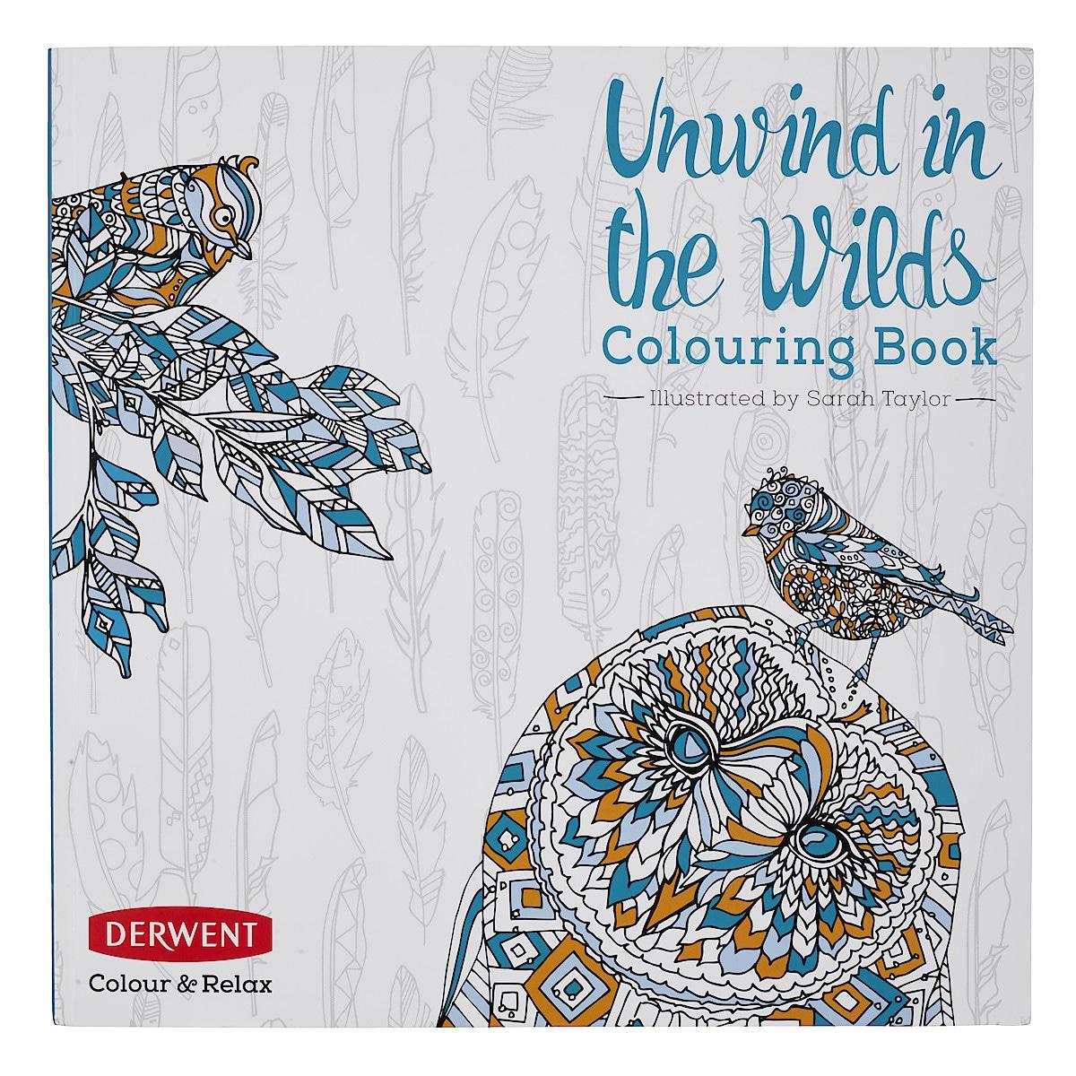 Aikuisten värityskirja Unwind in the wilds