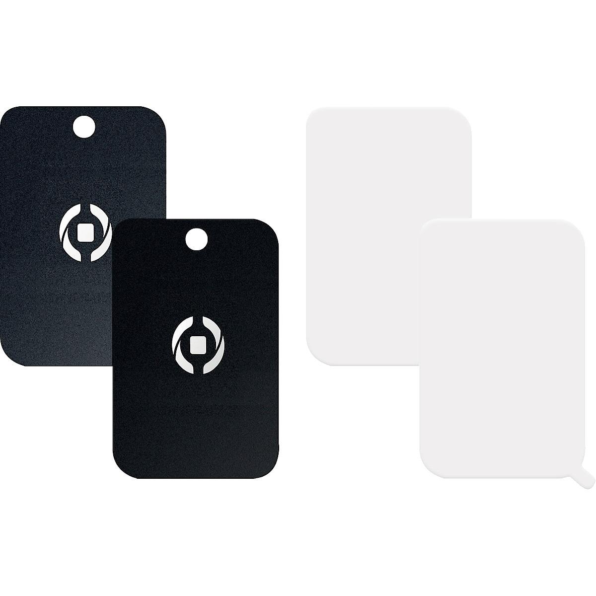Magnetfeste for mobiltelefoner 2-pack. Celly Ghost Plate