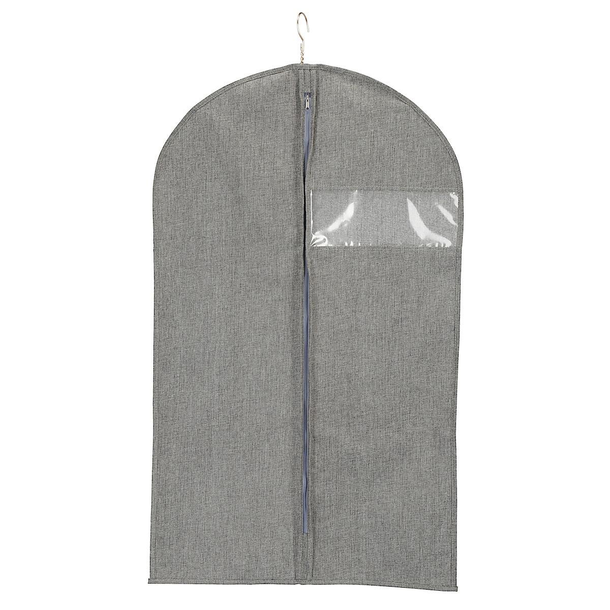 Klädpåse med dragkedja hängande