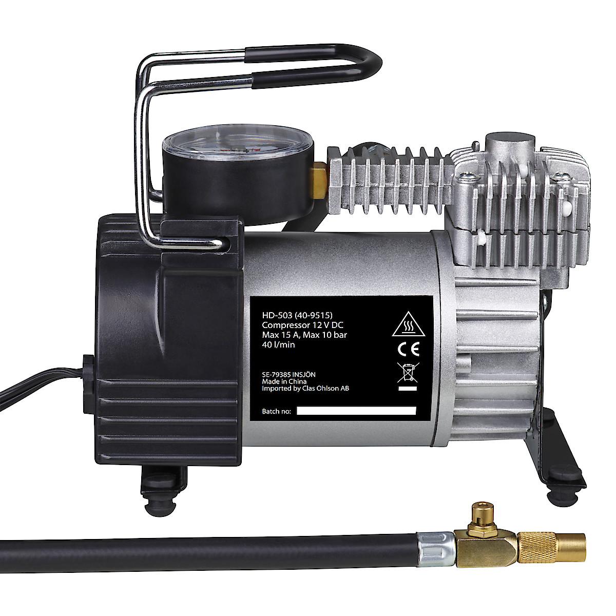 12 V-kompressor 40 l/min