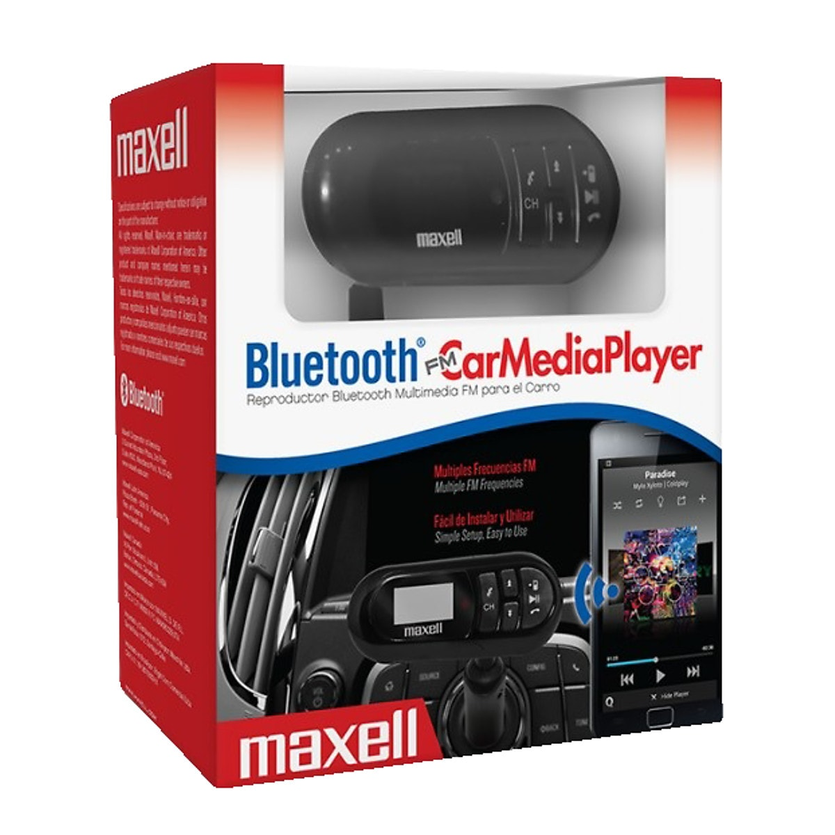 Maxell Bluetooth FM Transmitter