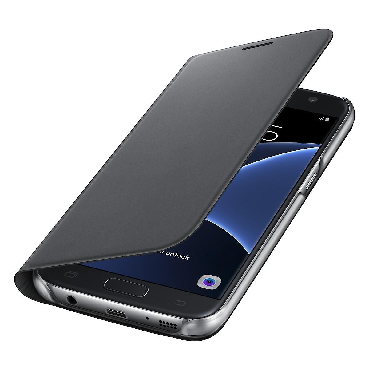 Plånboksfodral Galaxy S7, Samsung Flip Wallet