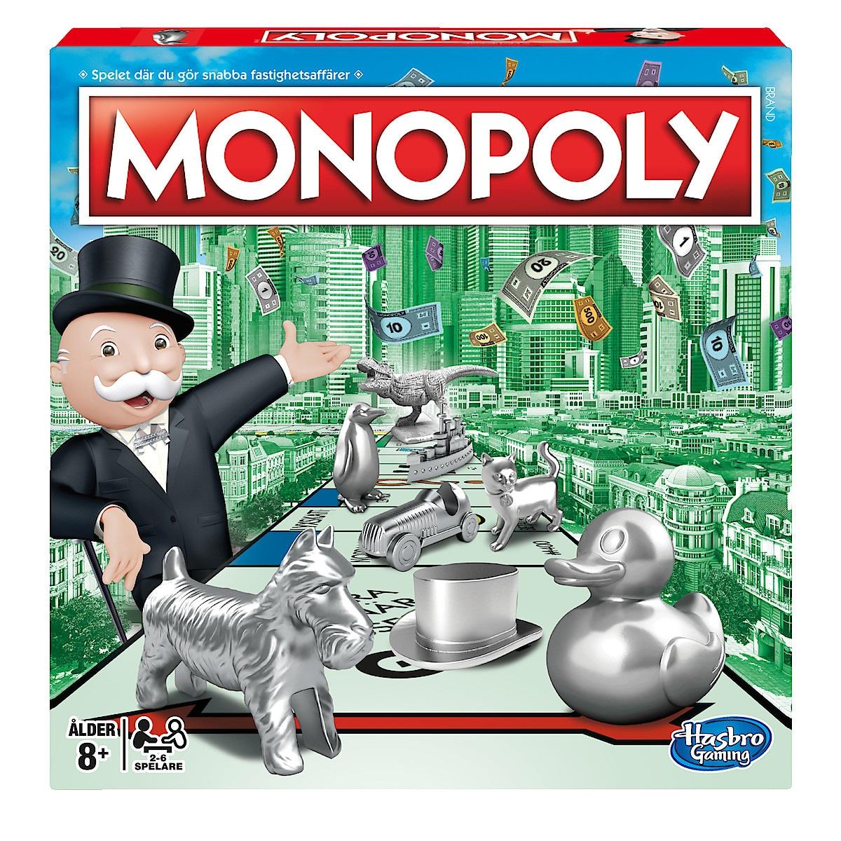Sällskapsspel Monopoly, Hasbro