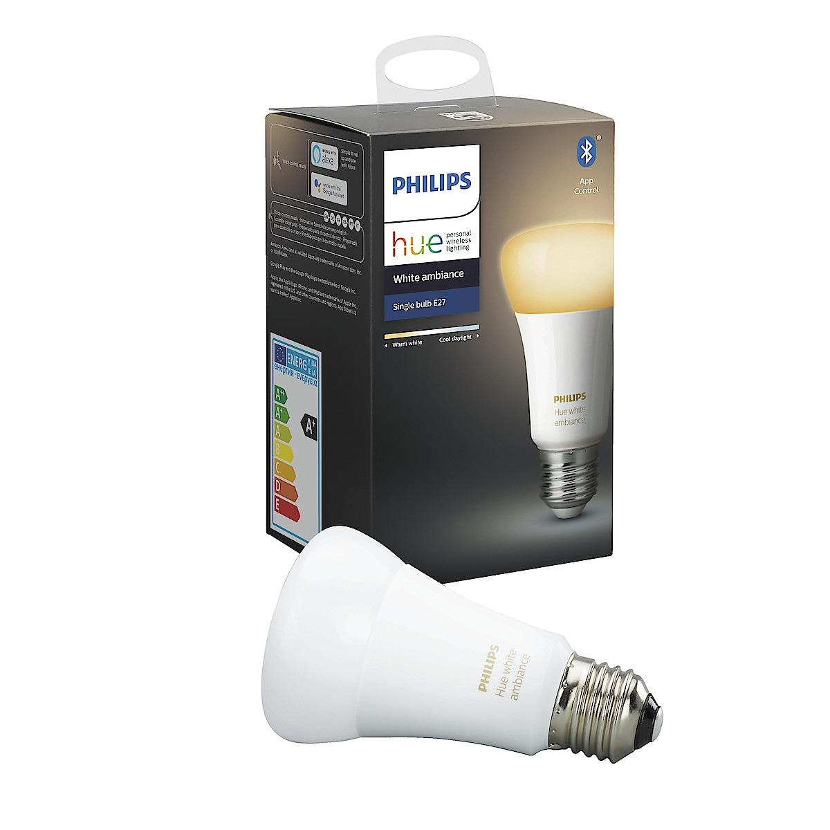 Philips Hue Ambiance LED-lampa 9 W E27 Bluetooth