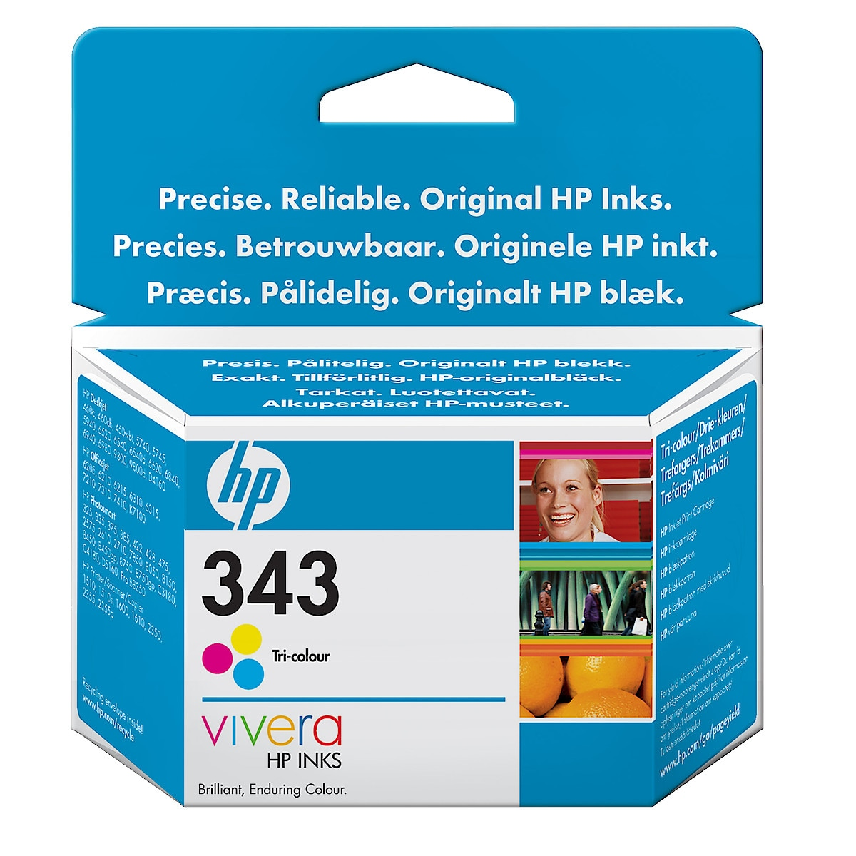 Mustepatruuna HP 343