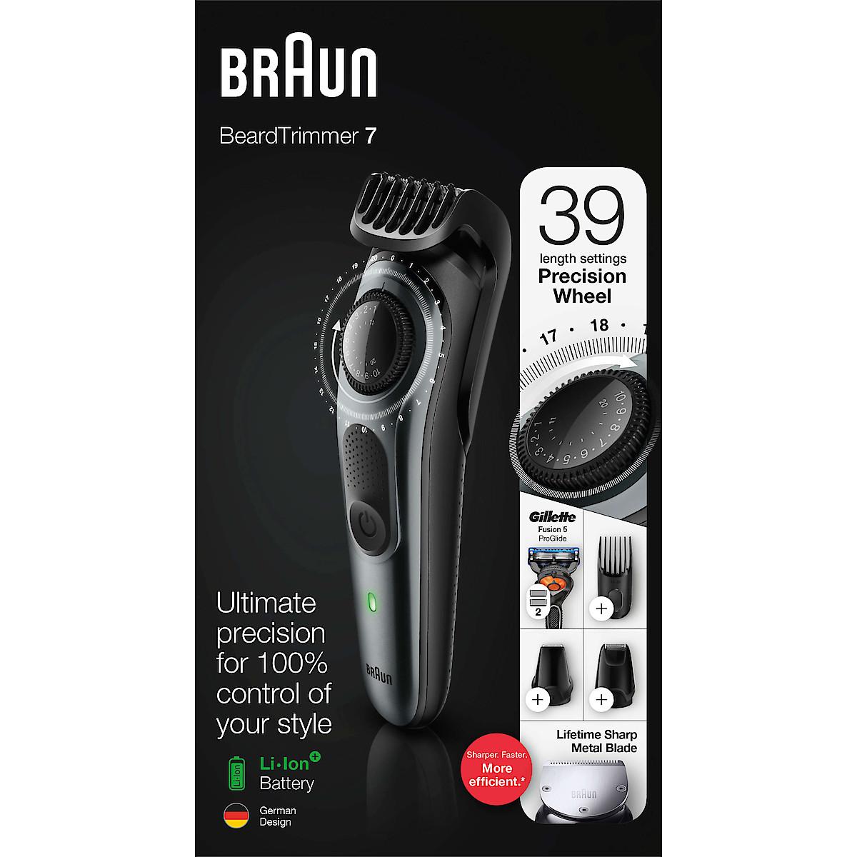 Braun BT7220, skäggtrimmer