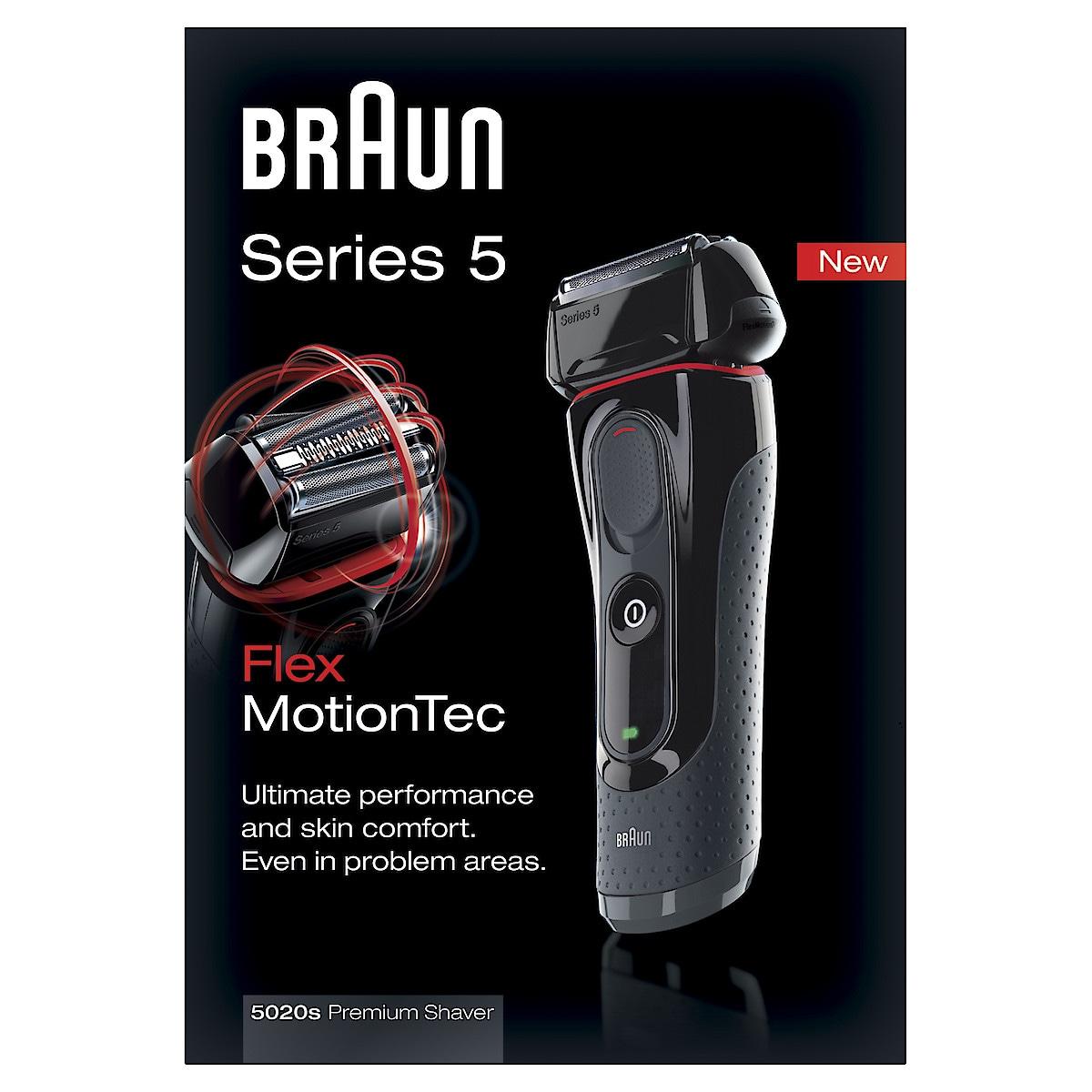 Rasierer Braun 5020s Series 5