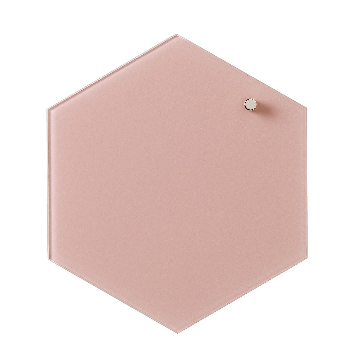 Magnetisk glastavla Naga Hexagonal 21 cm