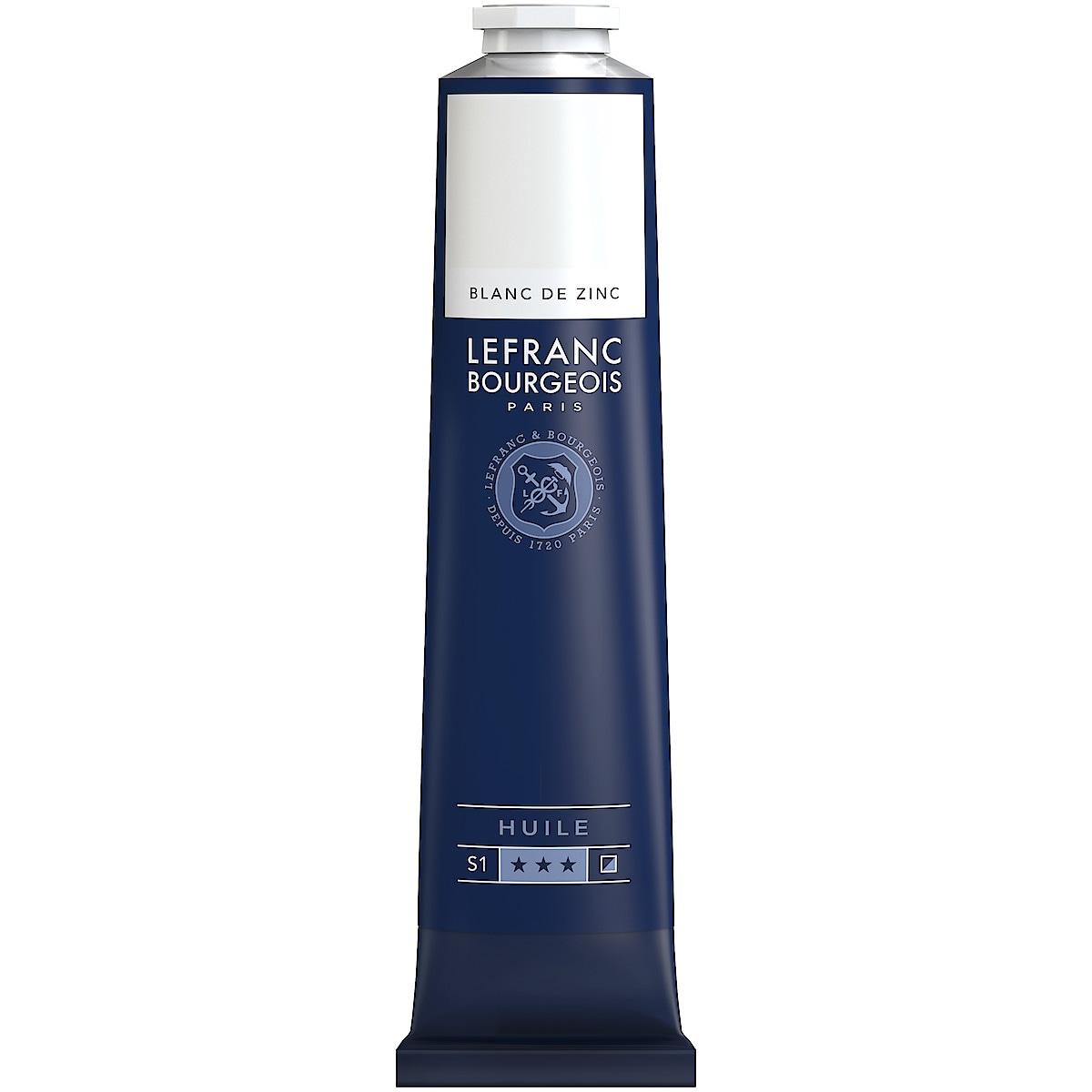 Oljefärg L&B Fine Zinc white 150 ml