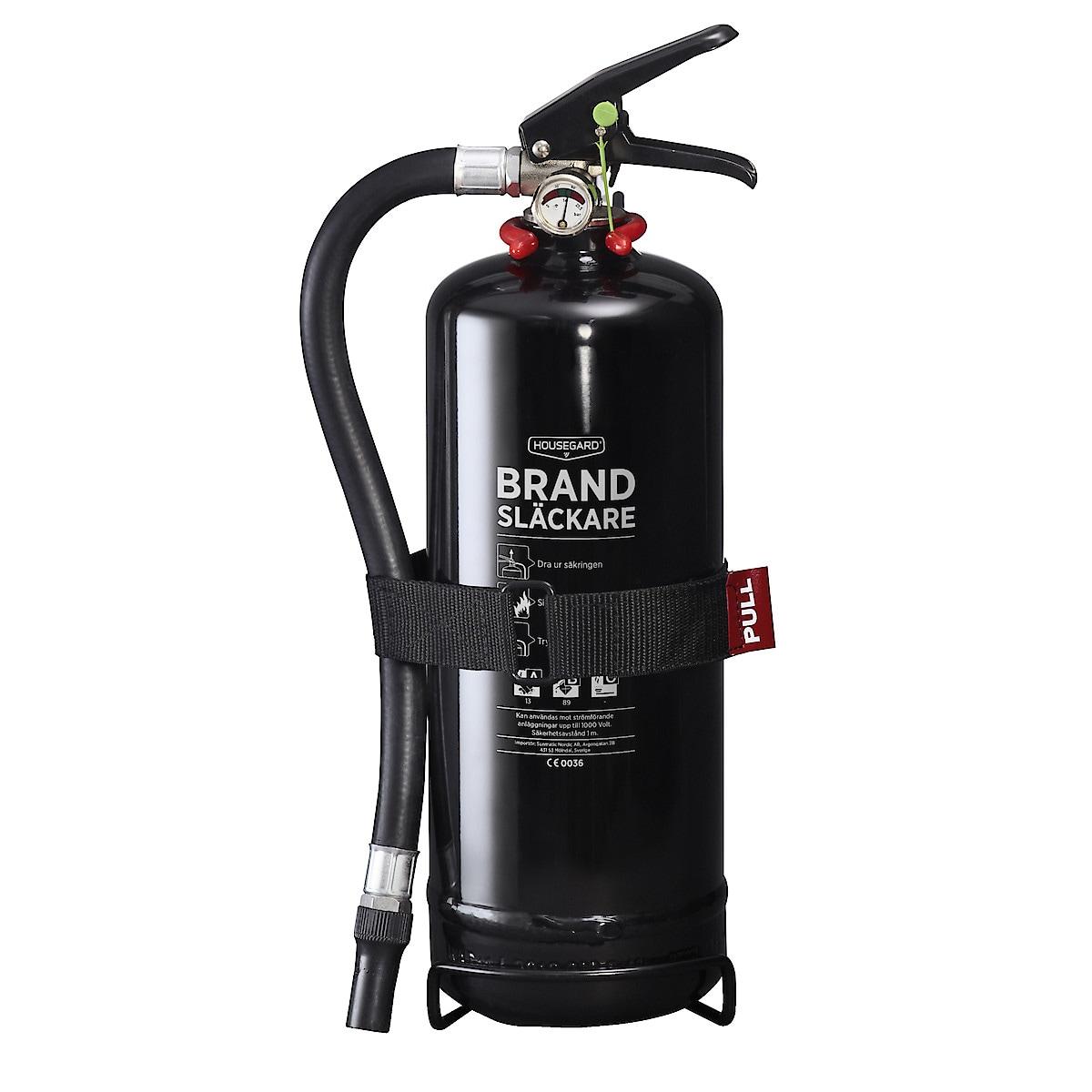 Brandsläckare 2 kg Housegard