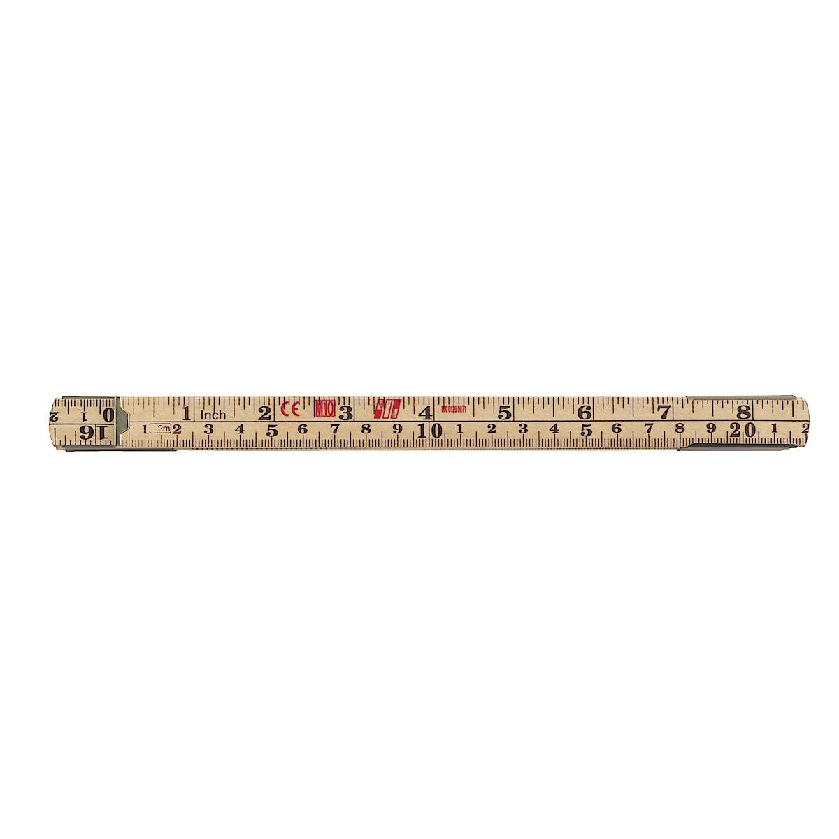 Tommestokk, 2 m