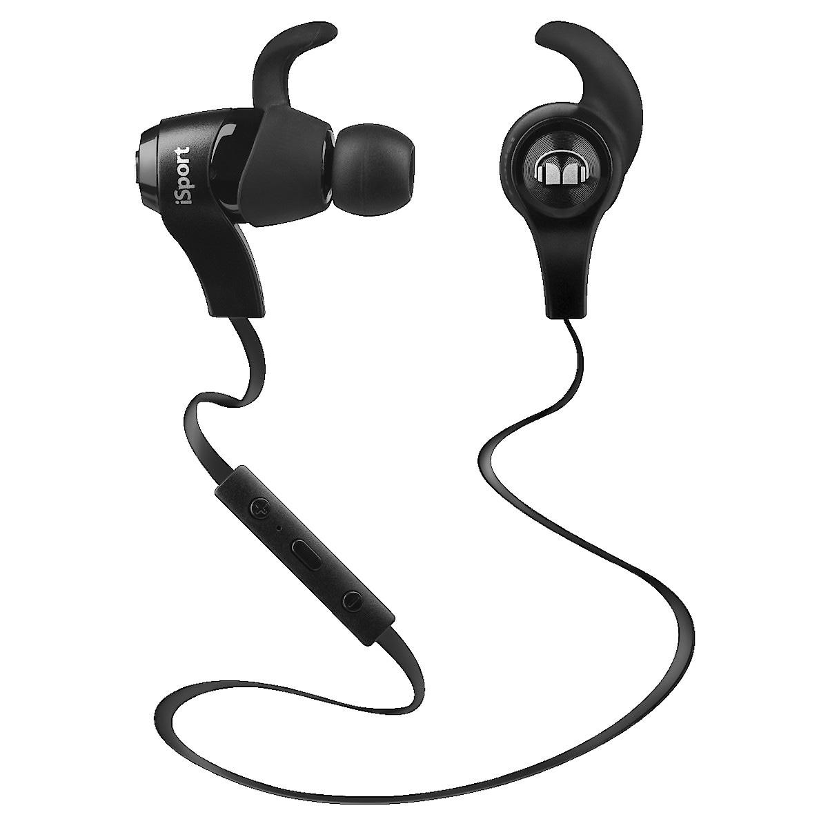Trådlösa sporthörlurar med mikrofon Monster iSport Wireless