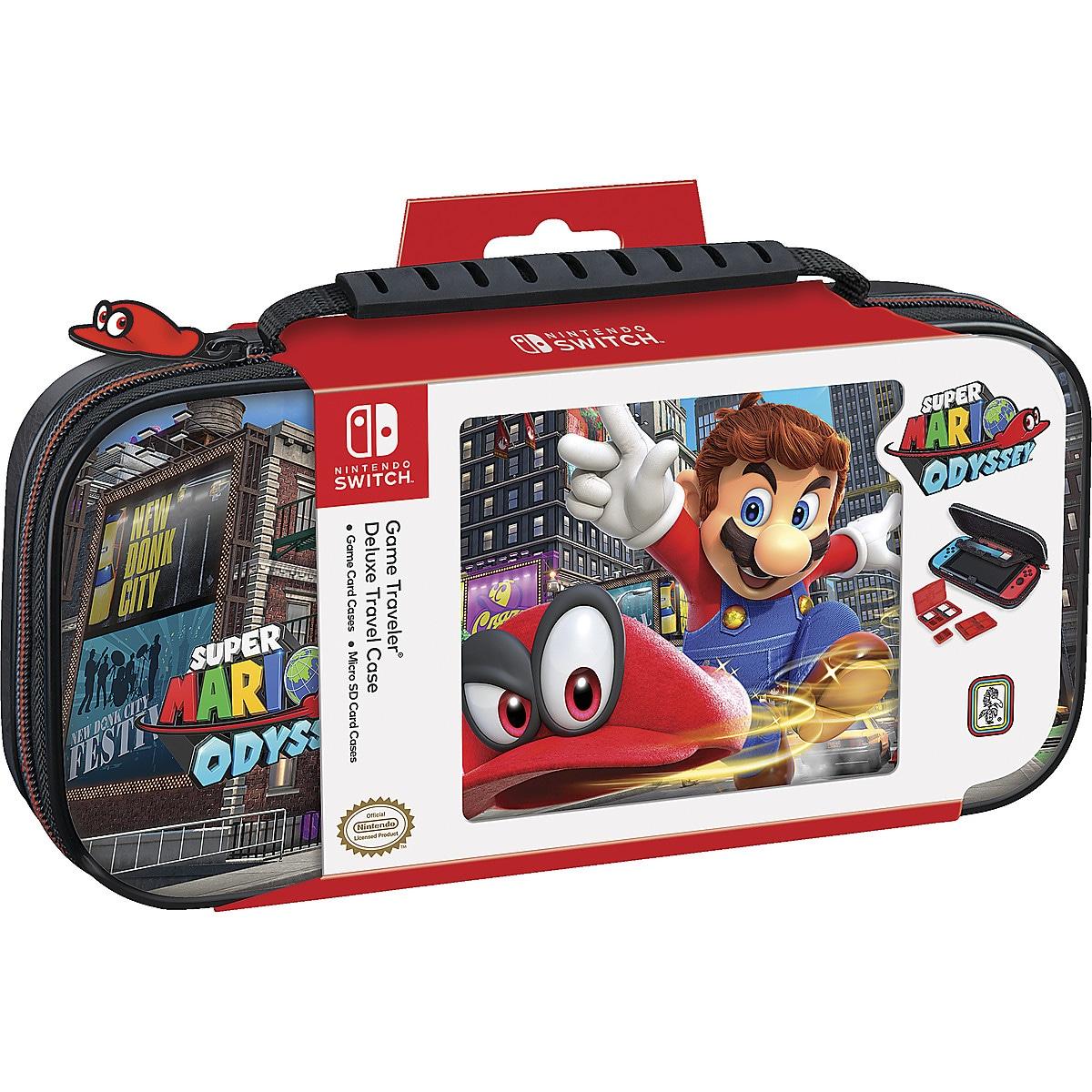 Väska, Nintendo Switch Deluxe Travel Case Super Mario Odyssey