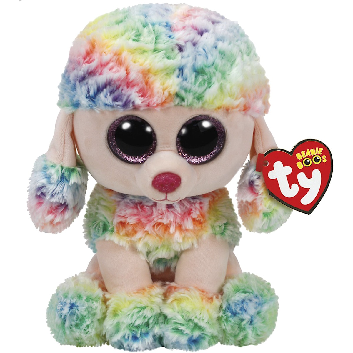 Gosedjur hunden Rainbow Ty Beanie Boos