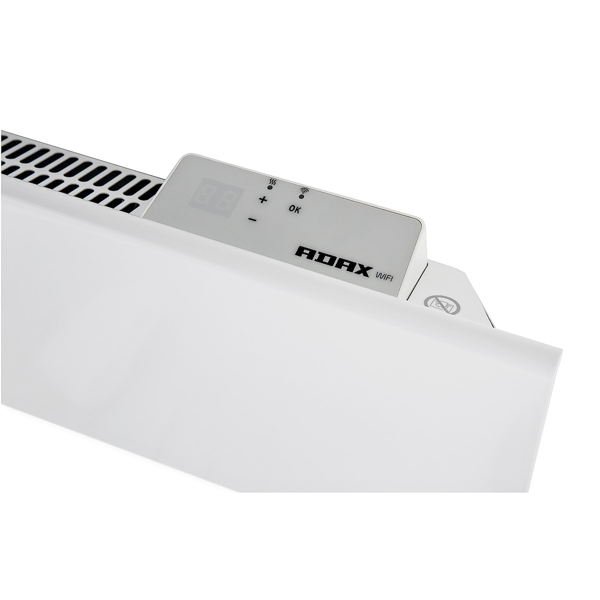 Element med WiFi 1200 W 400 V Adax Neo H12WT