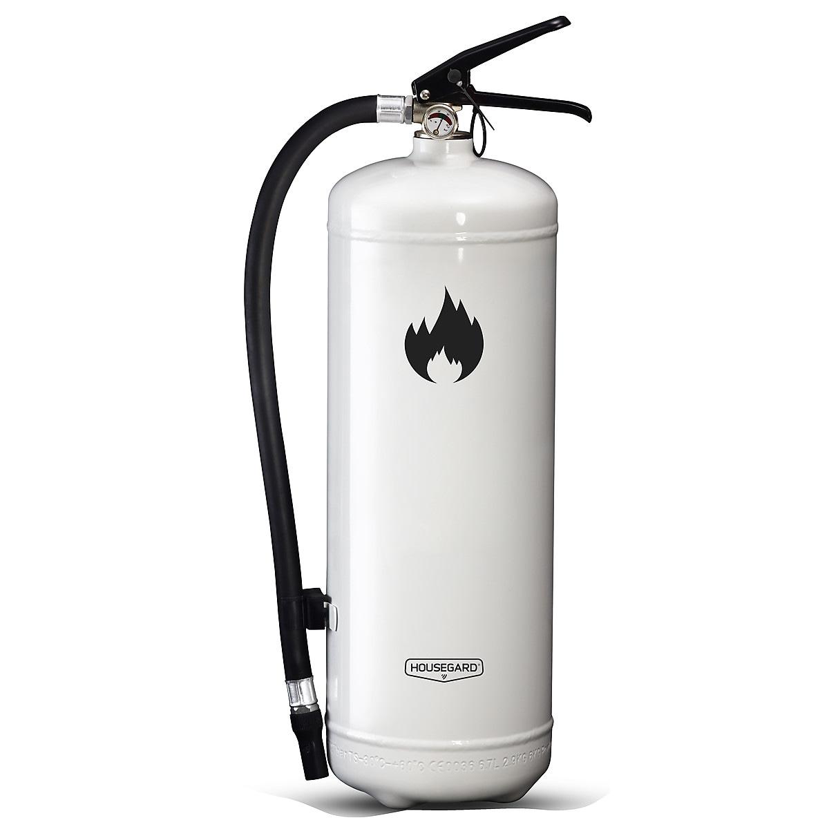 Brandsläckare 6 kg Housegard