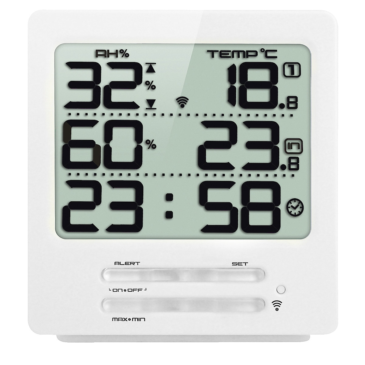 3-Channel Hygrometer/Thermometer