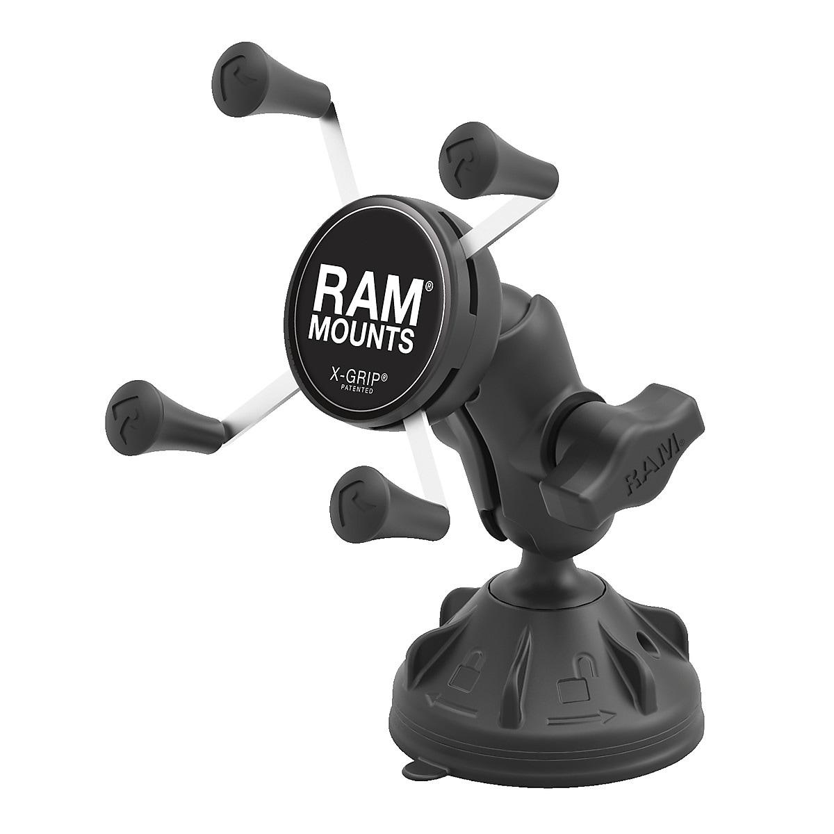 Ram Mounts smartphonefeste med sugekopp